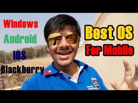 Best Operating System For Mobile Phones. (In Plain English)