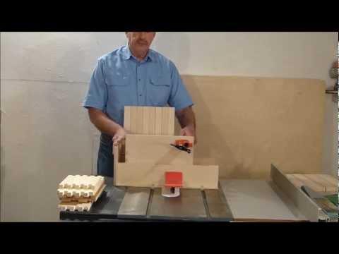 Box Joint Jig, Finger Joint