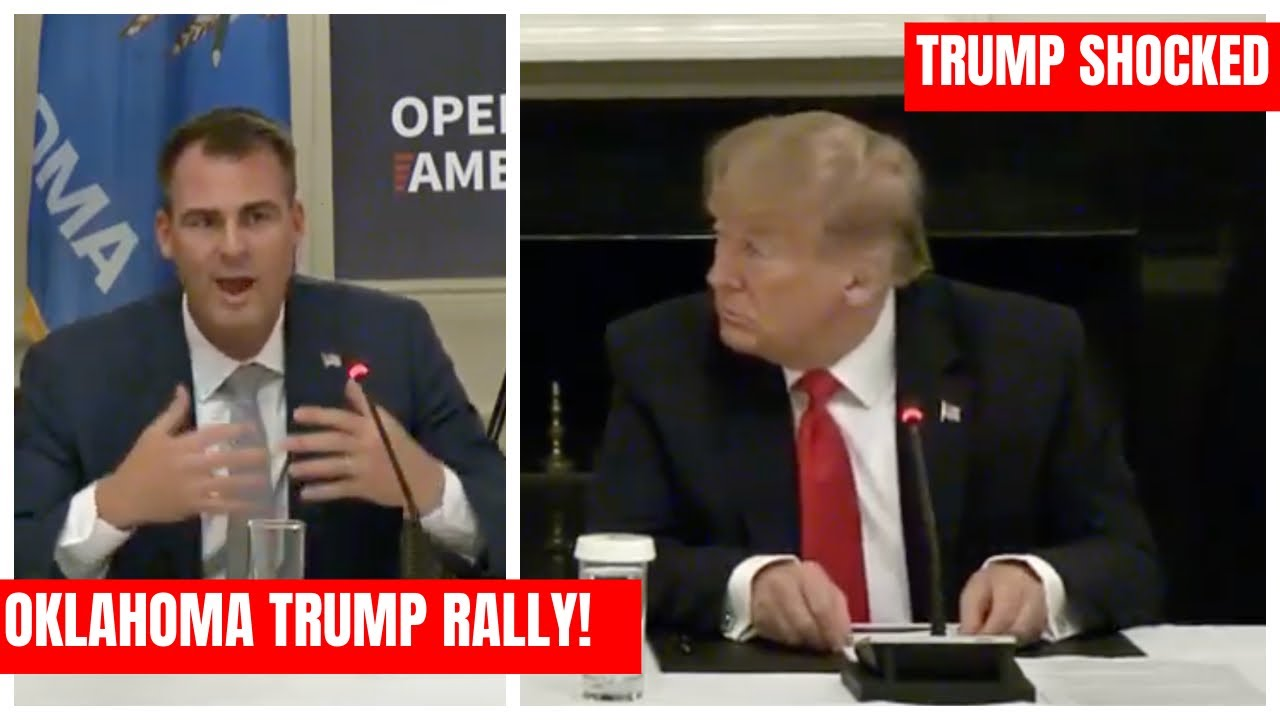 OKLAHOMA GOVERNOR GIVES TRUMP RALLY HIS BLESSING: Trump SHOCKED at Roundtable on Small Business