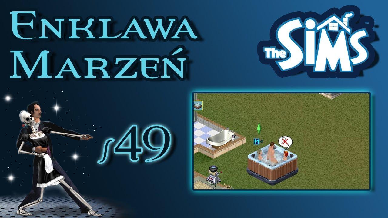 """Enklawa Marzeń odc. 49 – The Sims 1 – """"Uparta Dixie"""""""