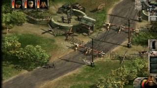 Commandos 2. Награда за смелость Миссия Тренеровочный Лагерь Прикол