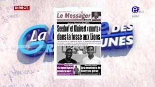 LA REVUE DES GRANDES UNES DU MERCREDI 17 JUILLET 2019 - ÉQUINOXE TV