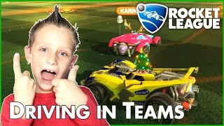 Driving in Teams with Karina / Rocket League