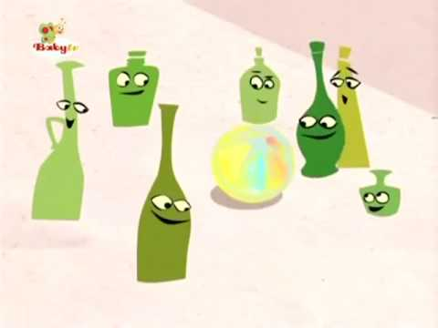 BabyTV Ten green bottles english
