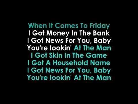 The Man Karaoke The Killers