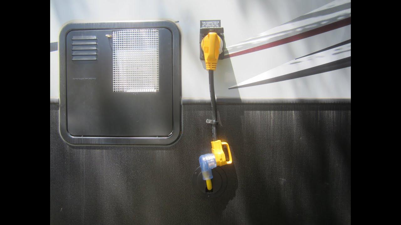 30 Amp Plug From 3000 Watt Pure Sine Inverter To 50 Twist Pt 3 Rv Hookup