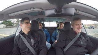 Tesla Model 3 Test Drive in Canada!