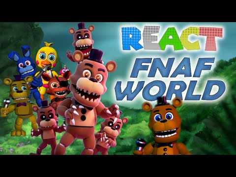 super fnaf world rpg скачать