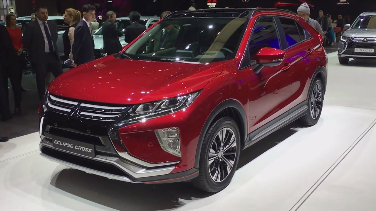 All New 2018 Mitsubishi Eclipse Cross Blends Suv And Coupe