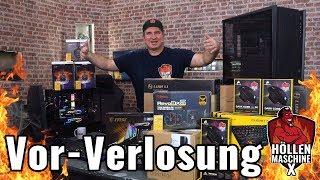 Höllenmaschine X: Die Vor-Verlosung und Vorstellung aller Gewinne! #Gaming-PC #Giveaway #Gewinnspiel