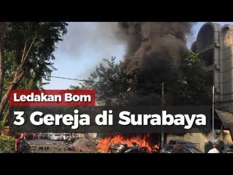 ANAK² JANGAN NONTON !! Rekaman ASLI Bom Gereja Surabaya