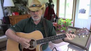 1305 -  Hello Walls -  Willie Nelson cover with guitar chords and lyrics