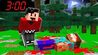 MINECRAFT: WHAT HAPPENED TO HEROBRINE AT 3:00 AM?!