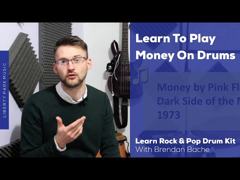 Learn to Play Money by Pink Floyd on Drums | Video Lesson
