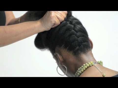 pump pin - natural hair