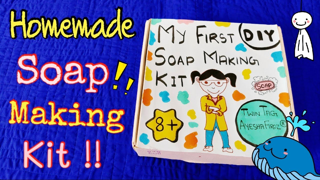 Creative Homemade Soap Making Kit 🤩🤓 Homemade Soap-100% Works! How to Make Soap at Home! Diy Soap 🧼😂