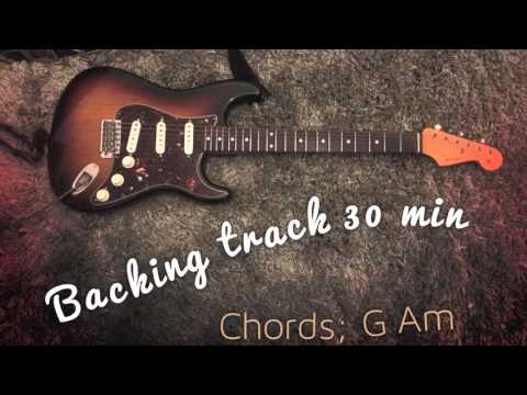 Backing Track Half an Hour G Am