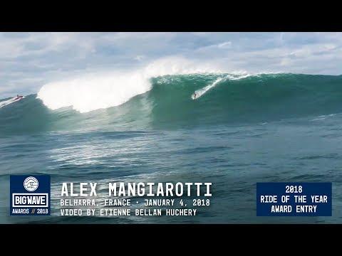 Alex Mangiarotti at Belharra  - 2018 Ride of the Year Award Entry - WSL Big Wave Awards