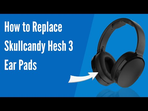 Skullcandy hesh 2 bluetooth wireless headphones replacement ear pads cushions