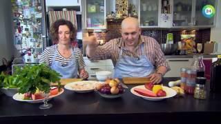 Бремя обеда. Перцы по-мароккански и рецепт для корюшки