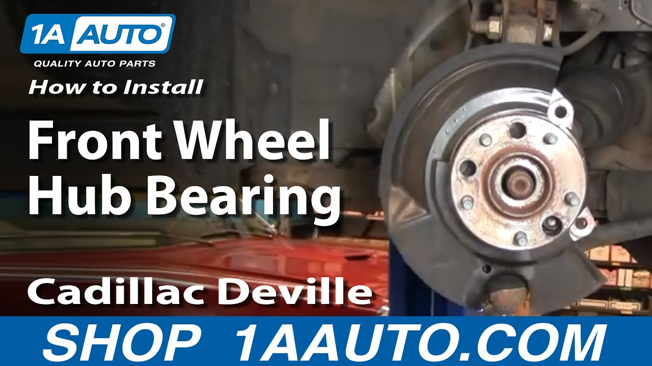 How to Replace Wheel Bearing & Hub Part 1 9799 Cadillac