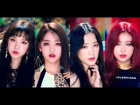 "(G)-IDLE ""HANN (Alone)"" BEAUTY RANKING"
