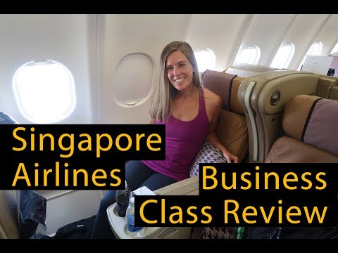 SINGAPORE AIRLINES BUSINESS CLASS REVIEW (A330-300)