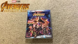 Avengers: Infinity War Blu-Ray Unboxing