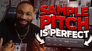 this sample is pitched PERFECT!! (making a boom bap beat)