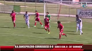 Serie D Girone D V.A.Sansepolcro-Correggese 0-0