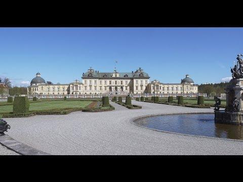 Drottningholm Palace in Stockholm 4K