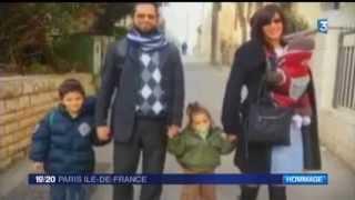 Inauguration du Square Jonathan Sandler à @Versailles