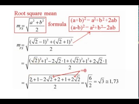 How to calculate arithmetic and geometric mean  (all means)  examples