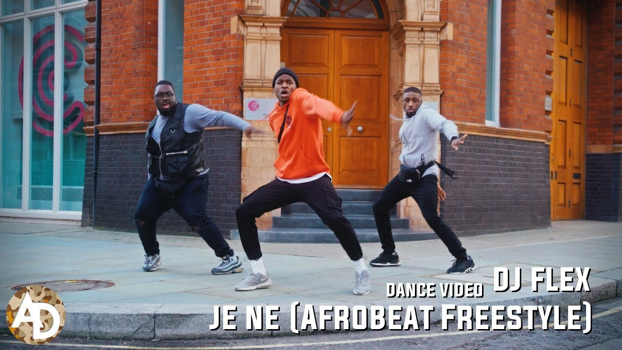 DJ Flex - Je Ne (Afrobeat Freestyle) (Dance Video)