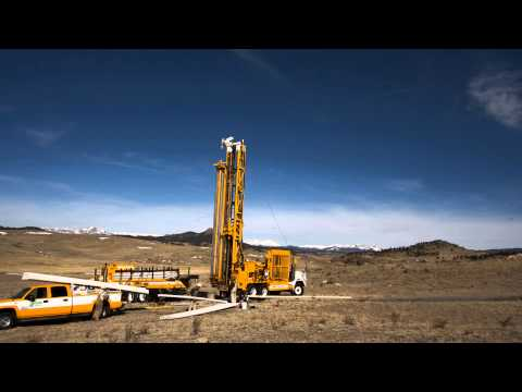 Incredible Time-Lapse of Water Well Drilling near South Park, CO
