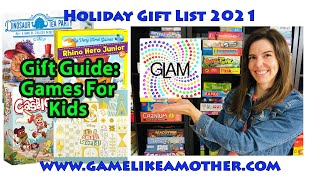 Game Like a Mother Holiday Gift List 2021: Games for Kids