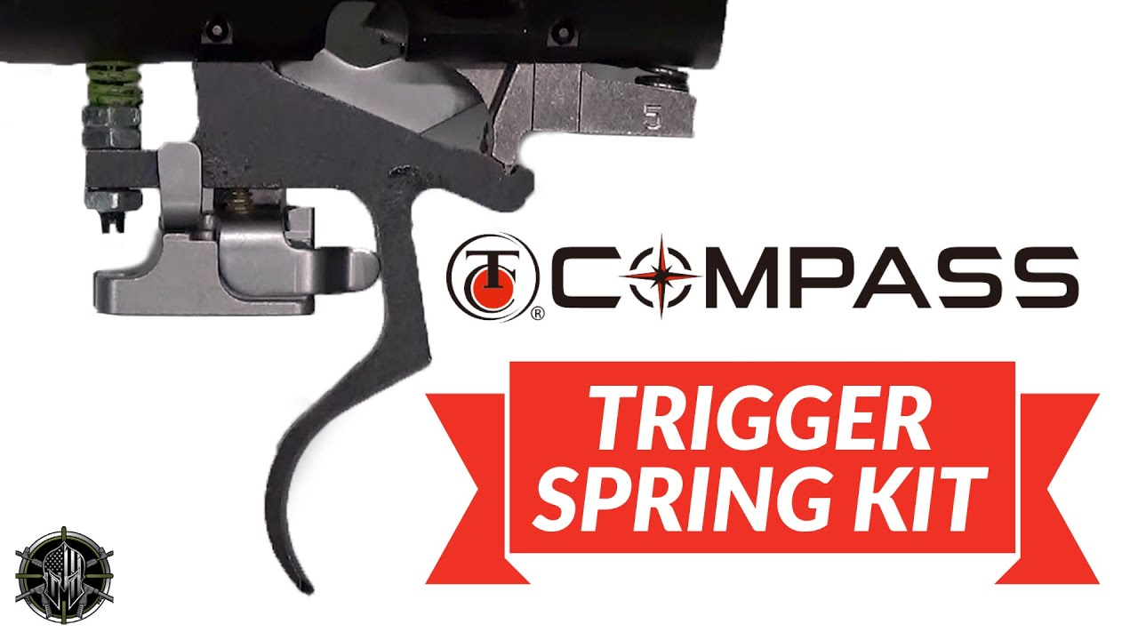 Thompson Center Compass Trigger Spring Kit Installation Video by MCARBO