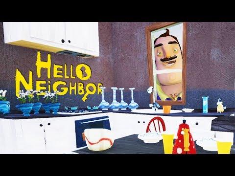 Stealing the Neighbor's Furniture! - Hello Neighbor Beta  - Hello Neighbor Secrets