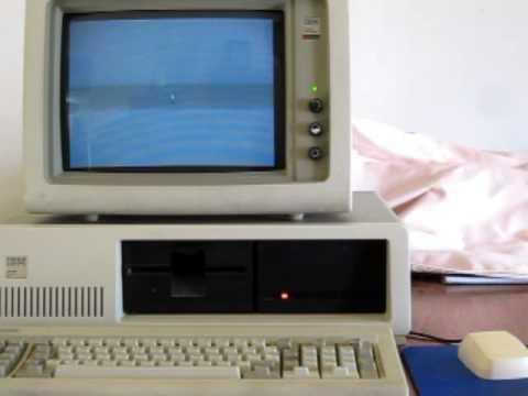Playing Reversi on Windows 1.01 IBM PC XT 5160