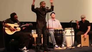 Elijah Kelley singing a song from Strange Magic
