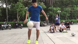 Tạ Quang Thắng - Freestyle Football Skills