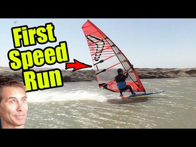 Ben Severne - First Speed Run Luderitz #TBT
