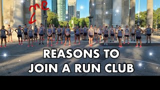 TOP REASONS TO JOIN A RUN CLUB | why they are important and can benefit every runner