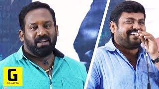 Robo Shankar & Kaali Venkat Semma Kalai Speech@Irumbuthirai  SUCCESS MEET | Vishal | Arjun