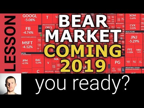 STOCKS DOWN, The Coming Bear Market, and 4 Strategies To Prepare