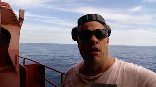Container Ship Vlog #15 (Day at Sea on a Maersk Container Ship)