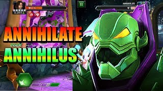 ANNIHILATE ANNIHILUS with these Champions [Uncollected] | Marvel: Contest of Champions