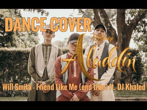 "SANDREE HA Choreography I Will Smith ""Friend Like Me"" (end Title) Ft. DJ Khaled #ALADDIN"