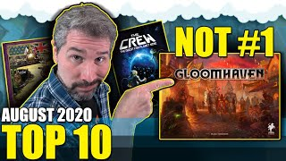 Top 10 Hottest Board Games: August 2020