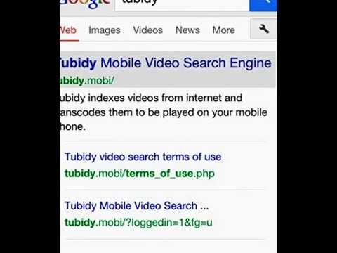 tubidy search engine indexes